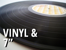 "Vinyl 7, 10 & 12"""